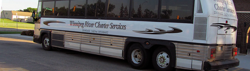 Our MCI 47' Motorcoaches are meticulously cleaned and maintained. They provide comfortable travel out-of-town or around Manitoba.