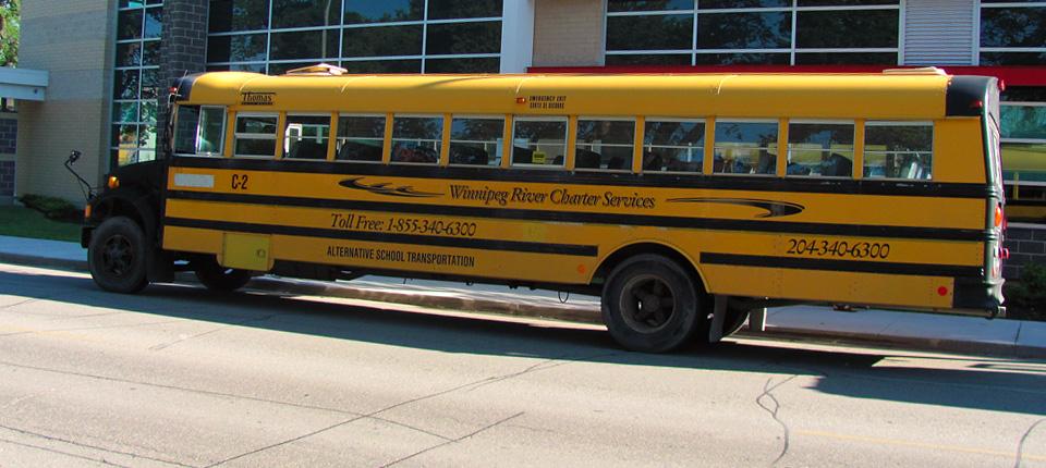 48 Passenger School Bus Winnipeg River Charter Services